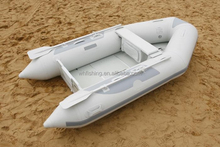 Made in China 2.7m rubber boat 3 persons inflatable diving boat CE approved