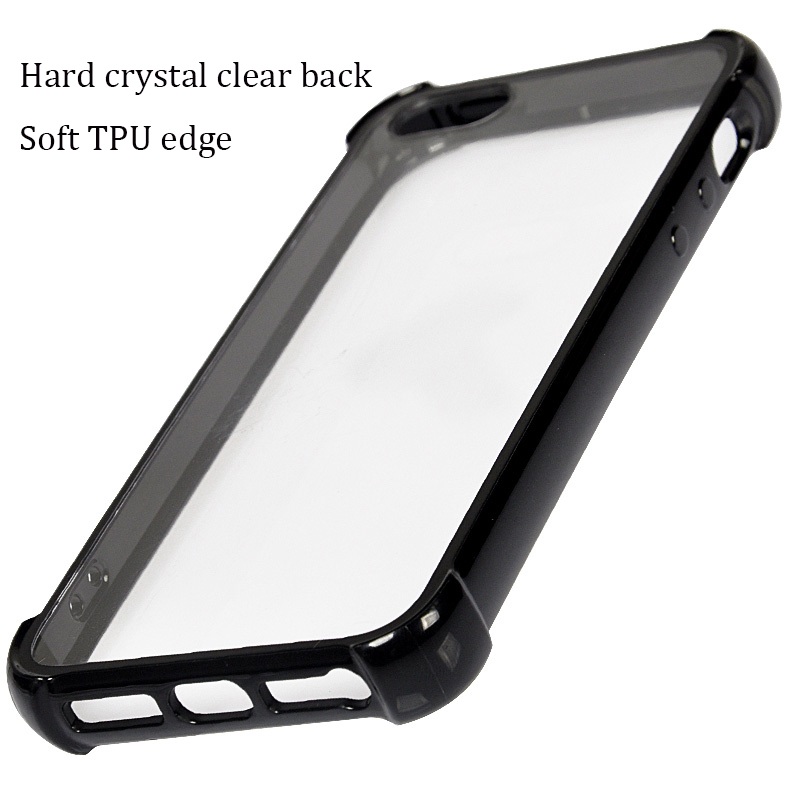 Mobile Accessories Cover Case for iphone 6 7,Transparent Clear TPU PC Case for iphone 6s,
