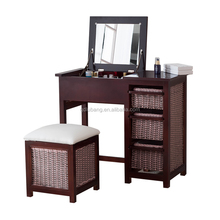 chinese cheap antique bedroom furniture dressing table/dresser/toilet table/Vanity