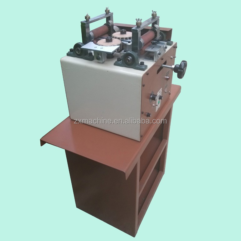 leather&pu waist belt edge grinding machine with high quality