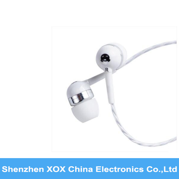 2016 hot selling XOX Noise Cancelling earphone in ear monitor
