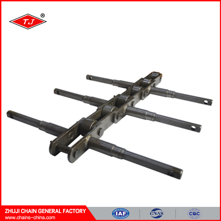 Roller chain type standard alloy steel large size conveyor chain
