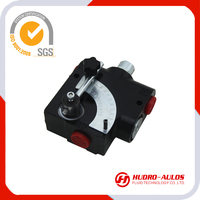 40LPM hydraulic manual flow control valve for large machine