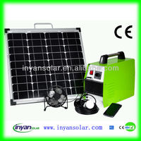 500W portable solar power system
