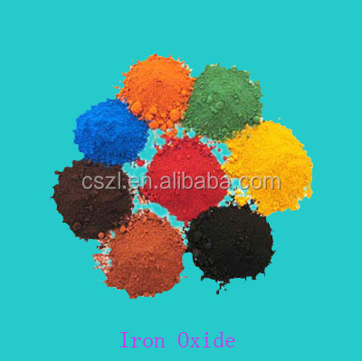 95% color iron oxide pigment powder for pvc/paint/pavers/rubber concrete