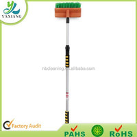 car wash brush with long handle, car care product