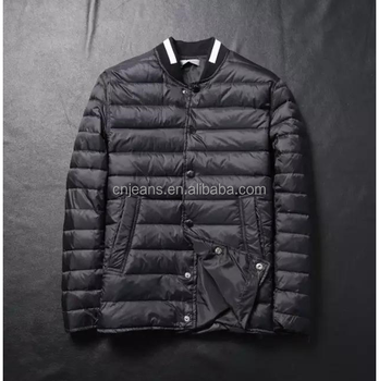 GZY stock lots young latest design ultra light down jacket for men