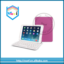 Bluetooth Keyboard leather smart cover for ipad mini