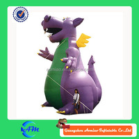 lovely inflatable dragon customized inflatable cartoon for sale