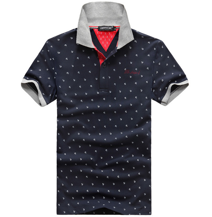 2015 New Arrival Men's Polo Shirt Casual Summer 3XL Men Polo Shirts Summer Style Short Sleeve mens Polos Grey White Navy Blue