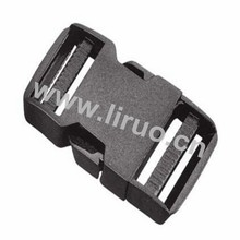 Dual Adjustable Side Release Plastic Buckles 1 1/2""