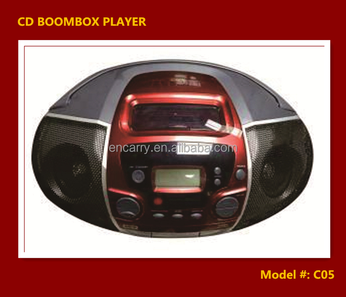 Portable CD Radio boombox player