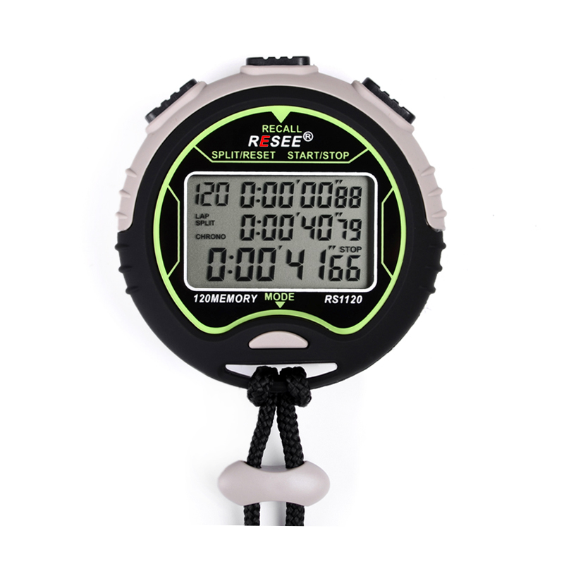 resee high quality sports stopwatch forward reverse timer