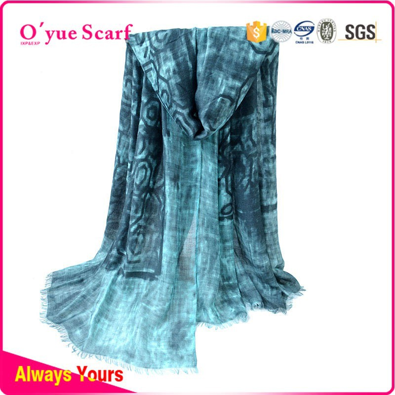 wholesale alibaba Printed fashion cotton inner mexican scarf