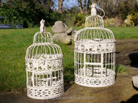 Home and wedding decor wire mesh bird cage