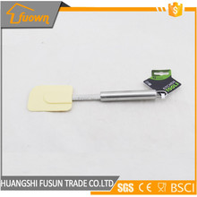 cake tool silicone spatula with stainless steel handle