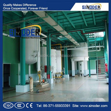 SINODER Brand New technology corn germ oil extraction machine rice bran oil solvent extraction machine