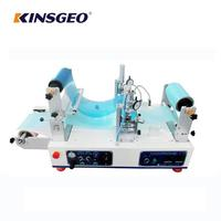 KJ-6018 Continuous Hot Melt Coating And Laminating Machine Test