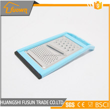 Popular stainless steel multi functions flat food grater