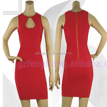 2015 red tight bandage tube dress sexy corset wedding dresses