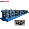 Garden pipe making machine line for making steel pipe