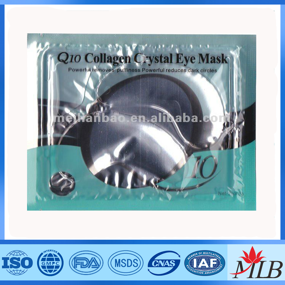 <strong>q10</strong> <strong>collagen</strong> crystal wholesale anti-puffiness party eye mask