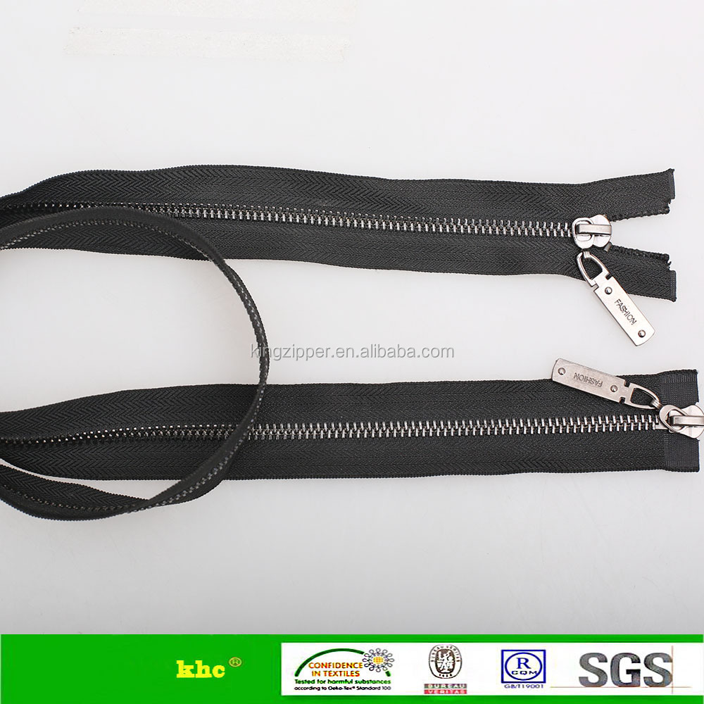 5# gunmetal teeth two way open end zipper khc brand zipper