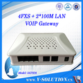 Voip Analog Telephone Adapter 1Wan 1Lan 4FXS Port RJ45 to RJ11 ATA SIP and IMS SIP VoIP Gateway
