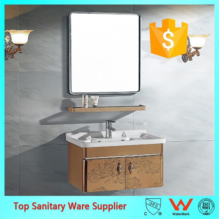 45 Inch Bathroom Vanity,bathroom Vanity With PVC Door
