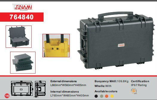 Large Size Tool Flight Case/ waterproof medical equipment case