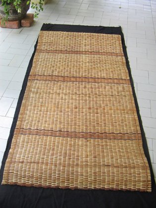 Natural heavy duty Rattan & Tree Bark Floor Mat
