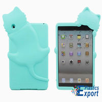 3D silicone case for ipad mini case