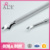 AILIER Professional Cuticle Pusher Kit Stainless Steel Dual-Ended Nail Cleaner Trimmer & Callus Removal Fork