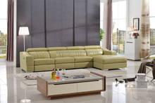New style best price living room furniture leather sofa set with price S138