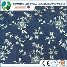 One set color denim shirting fabric printing fabric for shirt
