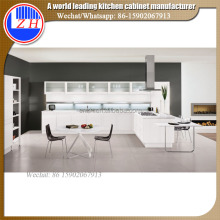 Glossy custom kitchen furniture kichen cabinet sets
