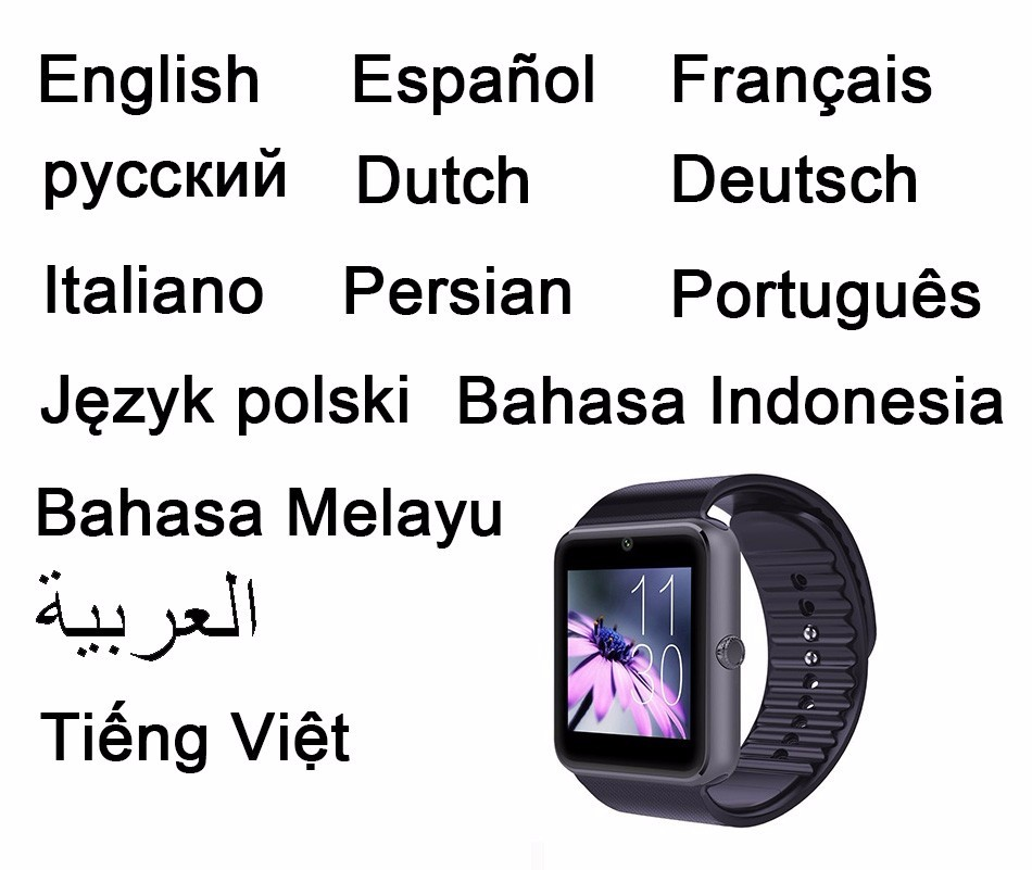 Manufacturer smart watch GT08 Shakeproof Bluetooth SmartWatch SIM Phone w Pedometer Bluetooth Call camera Sport Watch