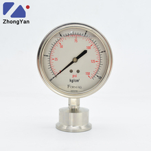 10 Bar 150 PSI Liquid Filled waterproof Diaphragm Pressure Gauges