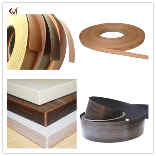 Decorative High Gloss Pvc Edge Banding For Wood Furniture