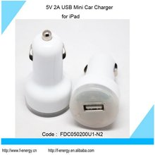 5V 2A USB Car Charger for iPad and Samsung P1000