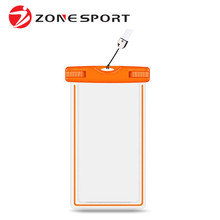 Fluorescent Waterproof Case Cover PVC Cellphone Bag For Phone