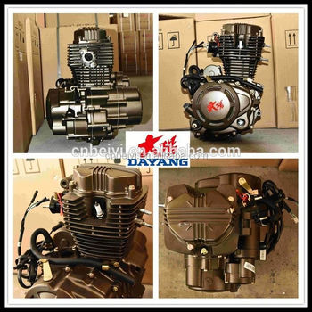 200cc Chongqing Lifan 200cc Air-Cooling motorcycle engine