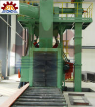 Light Steel Structural H Beam shot blast cleaning machinery