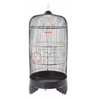 Export wholesale stainless steel thrush round bird cage.