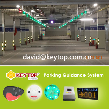 Parking guidance system ultrasonic parking sensor SGS CE approved