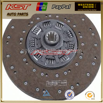 clutch disc assembly 1878003661,1862308031,1878032032,1862317031