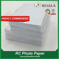 190g/240g/260g Waterproof RC coated high glossy photo paper