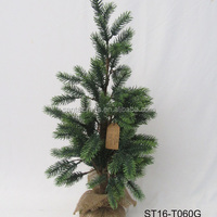 H70cm Artificial Christmas Tree Jute Base