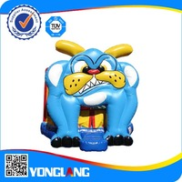 Inflatable commercial bouncer