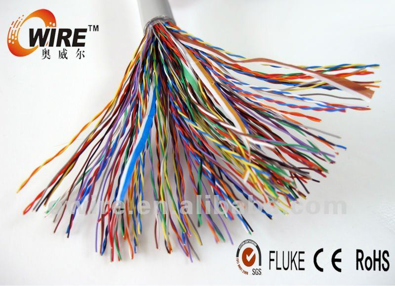100 pair telephone cable color code